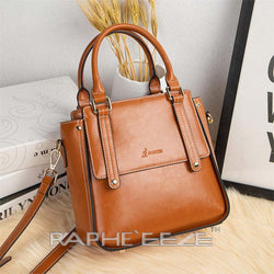 Stylish Tote Bag for Woman - Brown