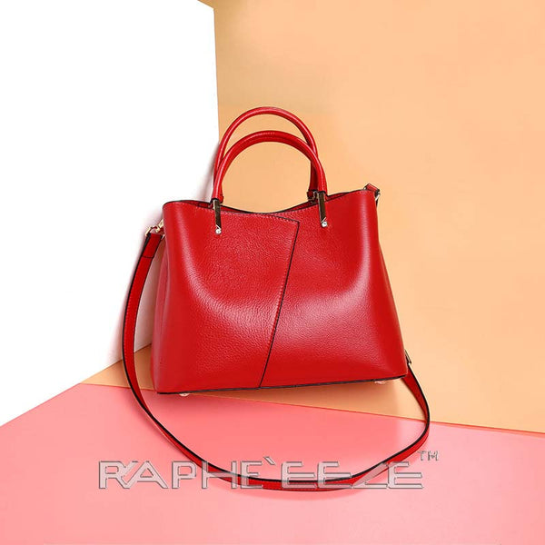 Classic Designed Handbag for Woman - Red
