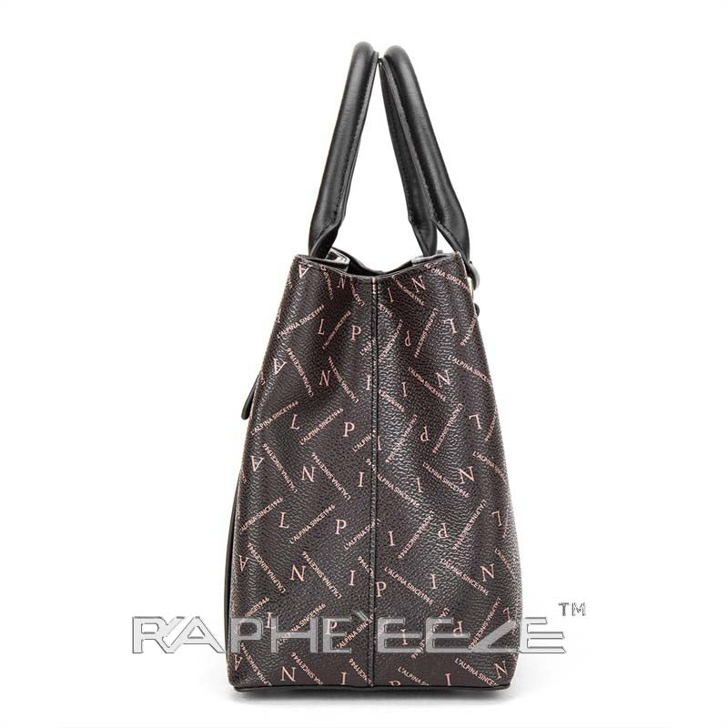 Classic Tote Bag for Woman - Coffee Color
