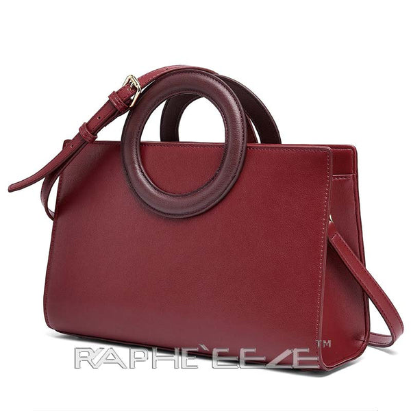Stylish Tweed Bags for Women - Red Color