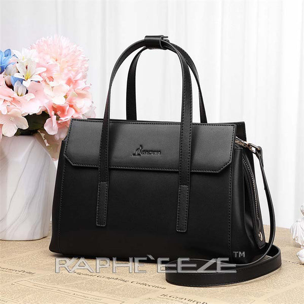Classic Designed Handbag for Woman - Classic Black Color