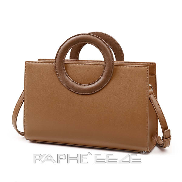 Stylish Tweed Bags for Women - Brown Color