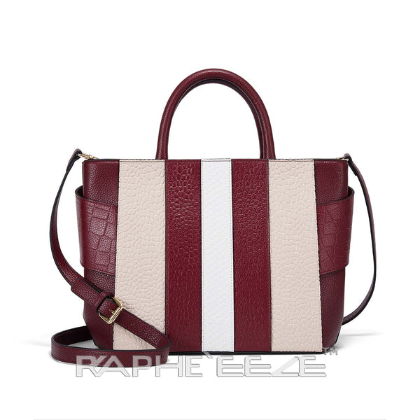 Unique and Stylish Tote Bag for Woman - Wine Red