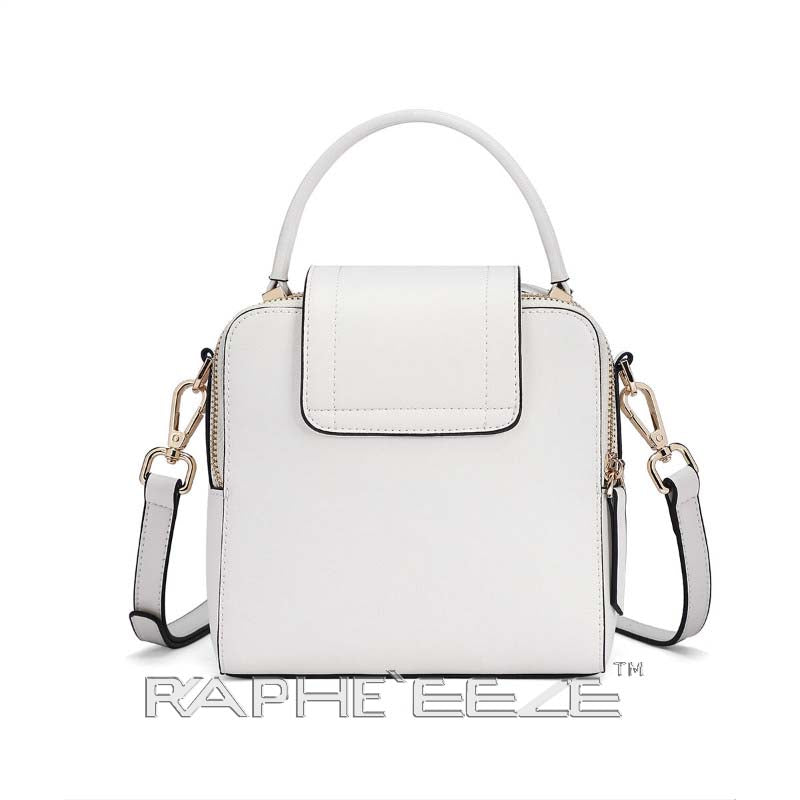 Stylish Tweed Bags for Women - White