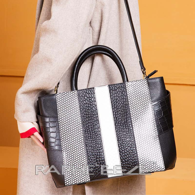 Unique and Stylish Tote Bag for Woman - Black