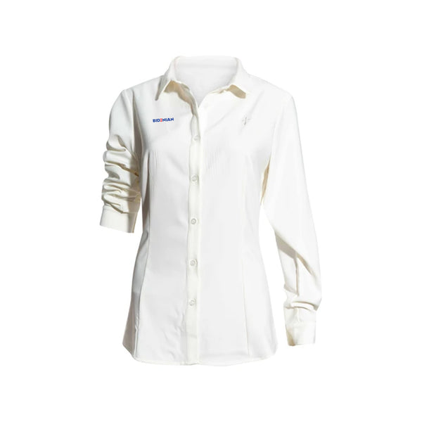 Rapheeze Ladies Elastane Soft Cotton Dress Shirt