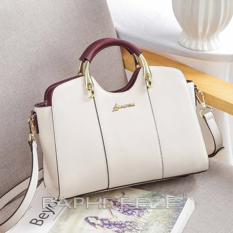 Elegant & Stylish Tote Handbag for Woman - White