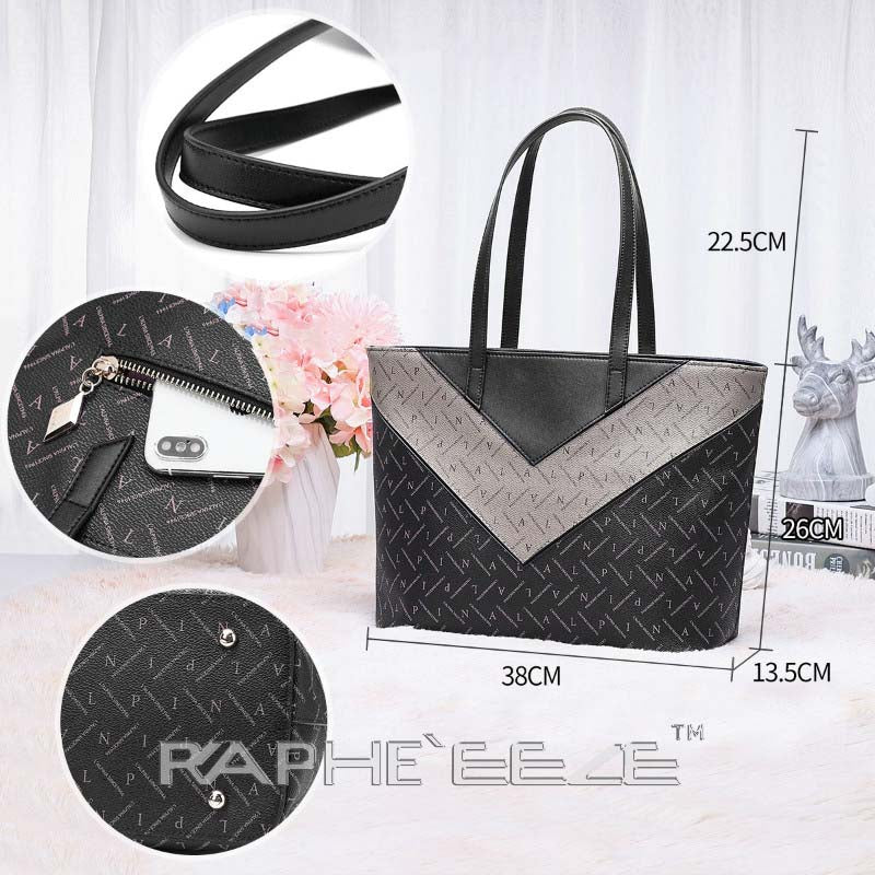 Luxurious Tote Hand Purse with Cross Body for Woman