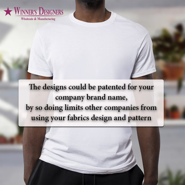 Your Company, Your Branding, Your Patent - Our Apparel & Design