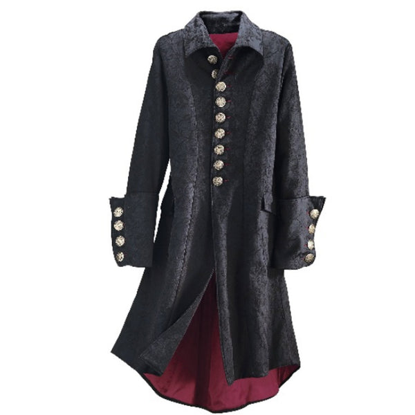 Women's Long Sleeves Black Coat 400 Pcs