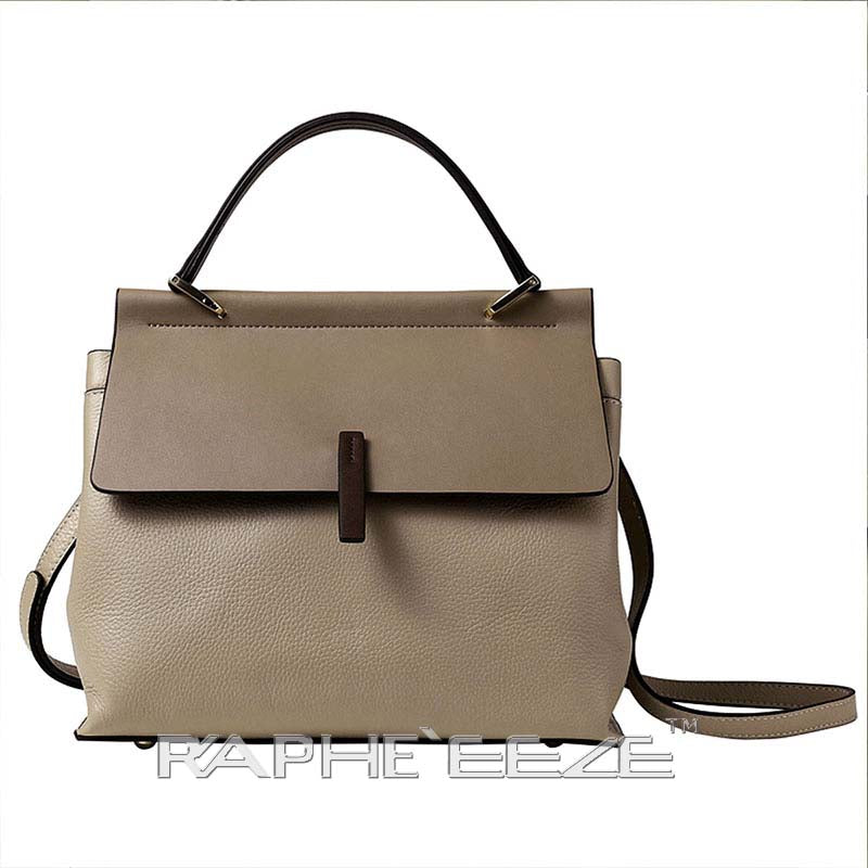 Unique & Elegant Tote Handbag Purses for Women - Cream Color