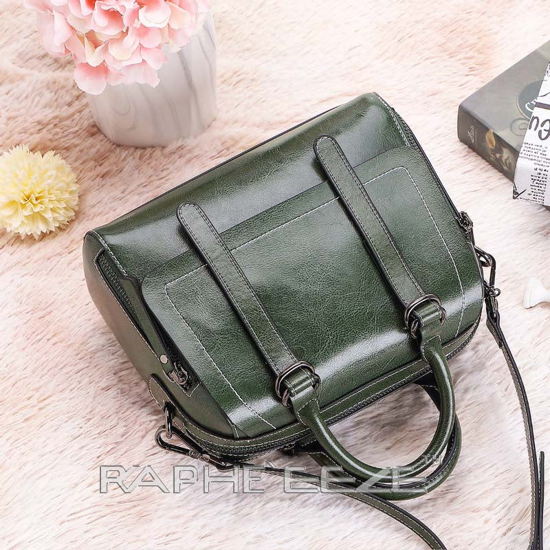 Eye Catching Handbag for Woman Tote Style - Green