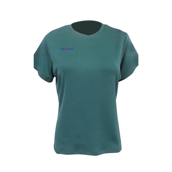 Rapheeze Presents 4-way super stretch T-tops - Cyan