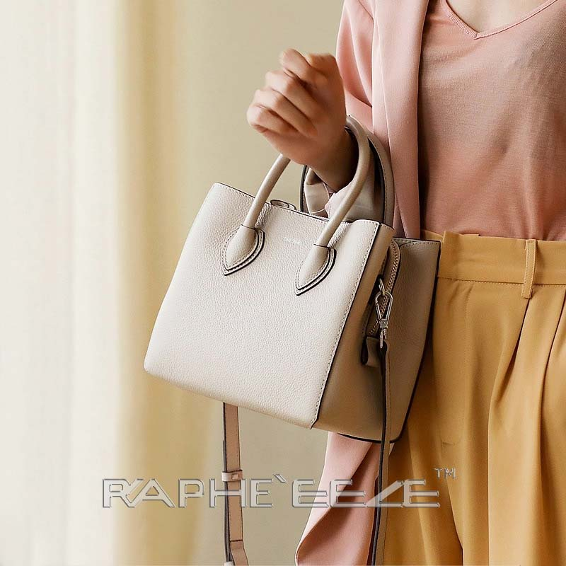 Party and Casual Style Handbag Purse for Women - White Color