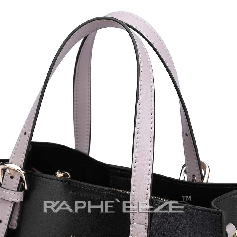 Unique Designed Stylish Tote Bag for Women - Black Color