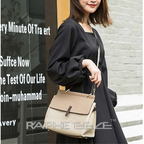 Stylish & Elegant Tote Handbag Purses for Women - Chocolate Color