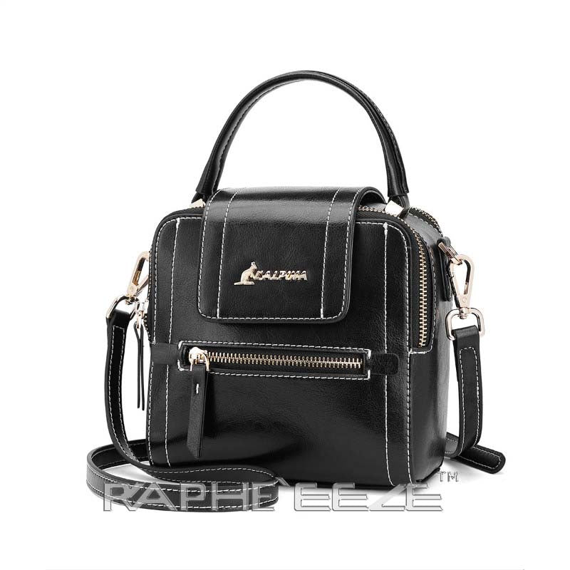 Stylish Tweed Bags for Women - Black