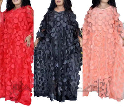 Red, Black, Cream Color Unique Designed Long Party Gown Maxi Style - 1 pcs with S, M, L, XL size