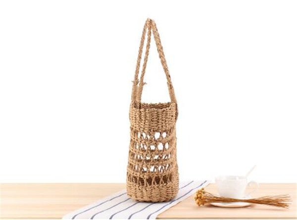 Women's Straw Causal Tote Handmade Leisure Large Size Straw Bag