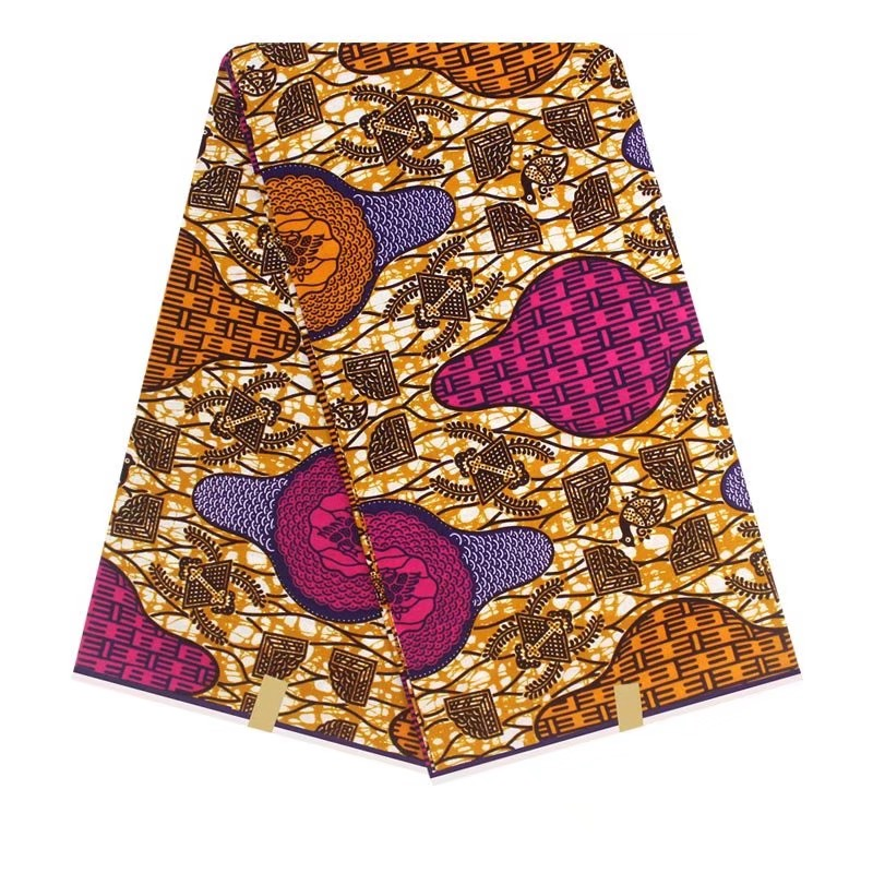 Egyptian Blend African Printed Wax Cotton Fabric