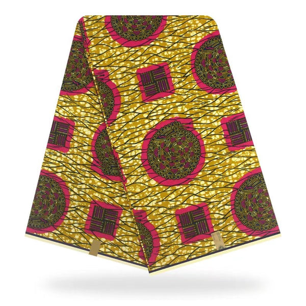 Nigerian Wax Print Hollandaise Fabric For Ethnic Garments