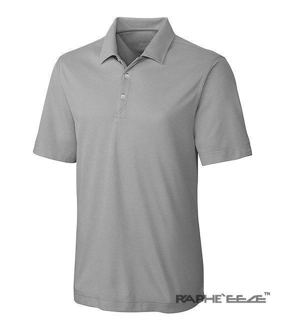 Best Sports Polo T-Shirt for Outdoor Man Slim Fit with Neck Button - Ash Color