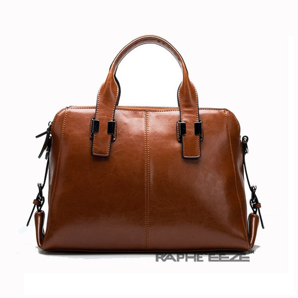 Brown Colored Premium Vintage Stylish Tote Handbag for Woman