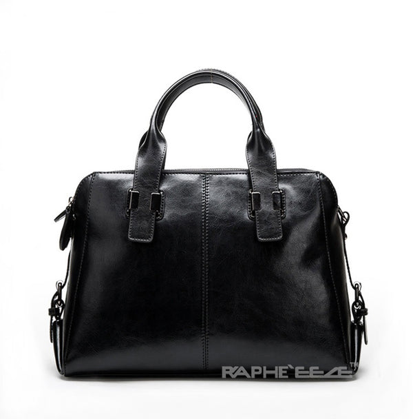 Black Colored Premium Vintage Stylish Tote Handbag for Woman