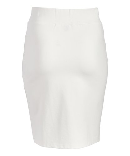 English Italian Half Button V-Skirt