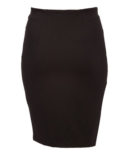 Rapheeze American Tradition ABCG Black Asymmetric Zip Skirt