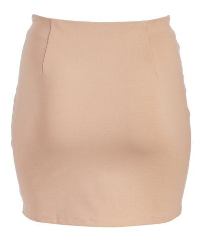 Rapheeze ABCG Mini Taupe Personality Skirt