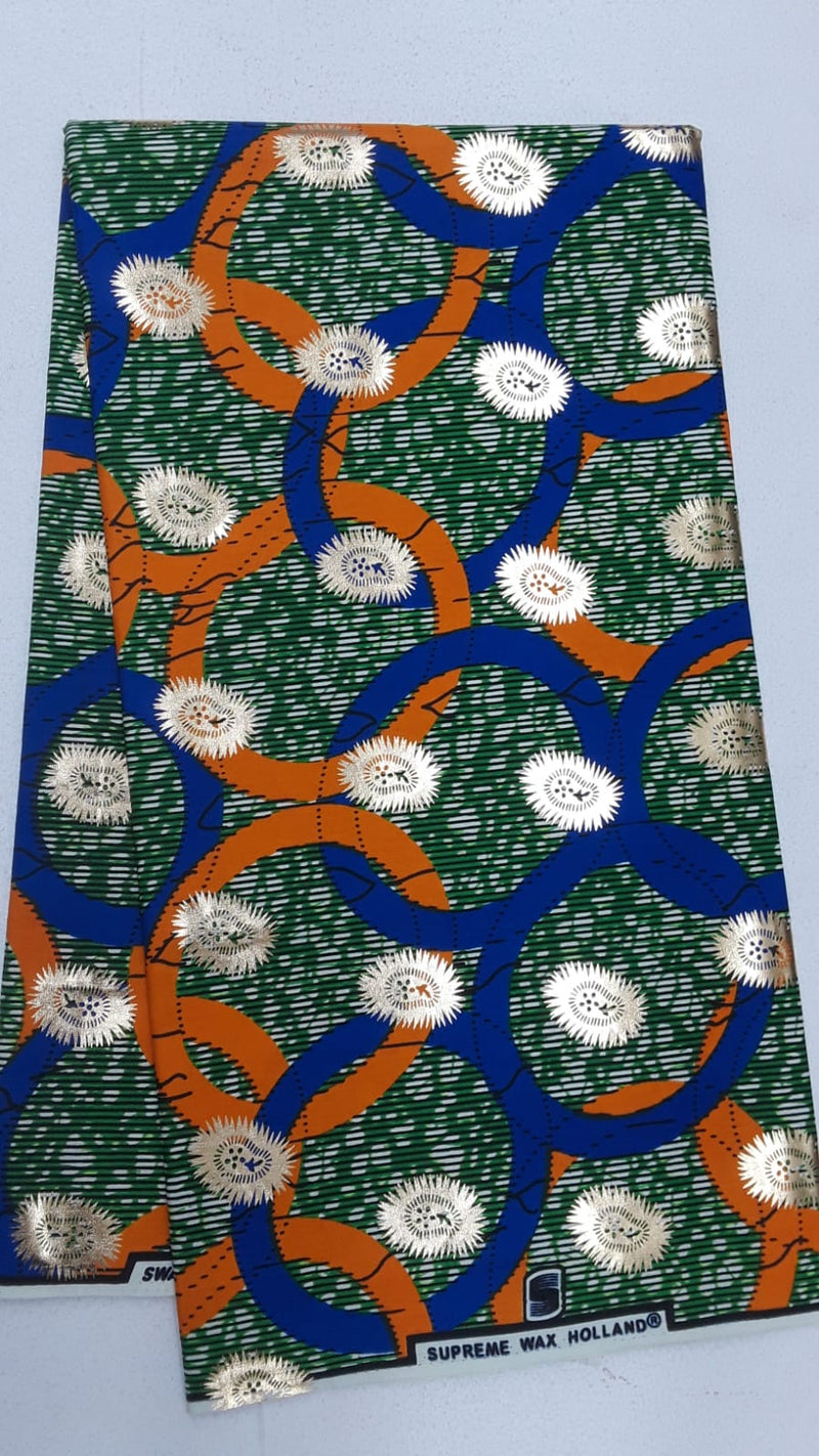 Unique Designed Body Wax Printed Original Kente Fabrics - Mix Pattern Design