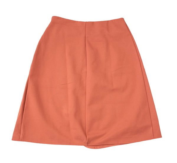 English Italian Marsala Wrap Skirt