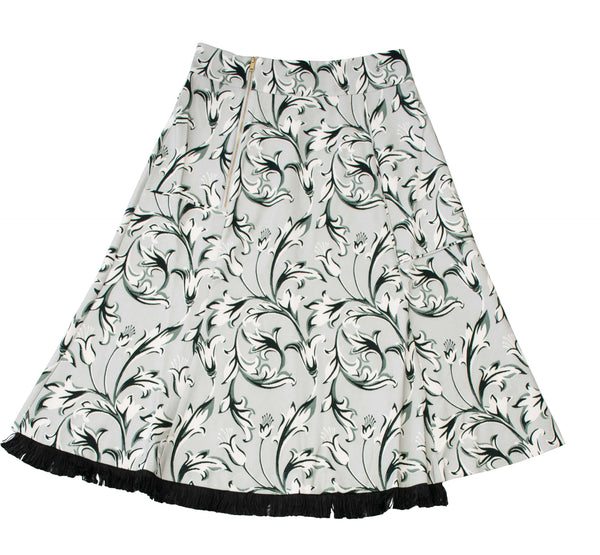 Midi Wide Skirt Dianian Design