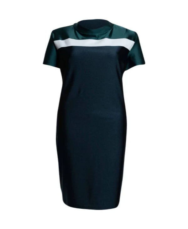 Tri-Color Polo Dress Plus Size & Motherhood