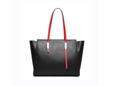 Trendy & Stylish Designed Genuine Italian Leather Made Large Tote Bags for Women - Black