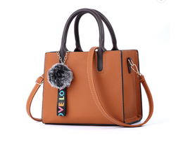 Beautiful Designed Genuine Italian Leather Made Tote Bag for Women - Brown