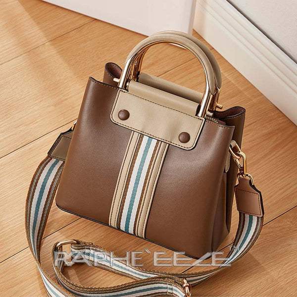Eye Catching Stylish & Elegant Tote Handbag Purses for Women - Brown