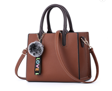 Beautiful Designed Genuine Italian Leather Made Tote Bag for Women - Coffee