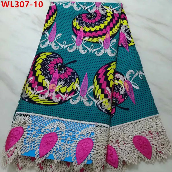 Super Stylish Lace Fabrics With Embroidery Net Lace - Multi Color