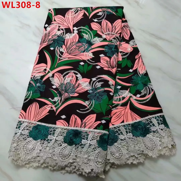 Latest Designed Stylish Lace Fabrics With Embroidery Net Lace - Unique Design