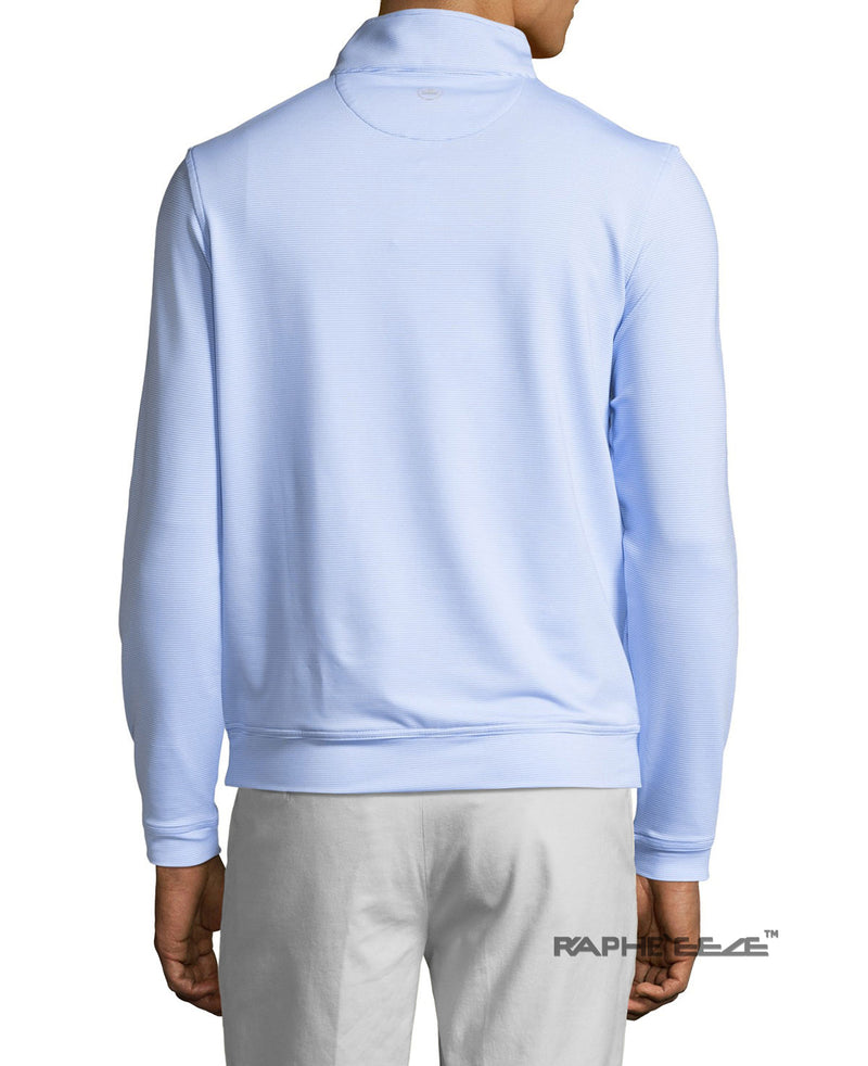 Men's Polo Shirt Golf Sports Long Sleeve T-Shirt Jersey Casual Long Sleeve Tops - White Color