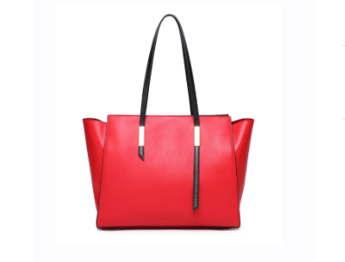 Trendy & Stylish Designed Genuine Italian Leather Made Large Tote Bags for Women - Red Color