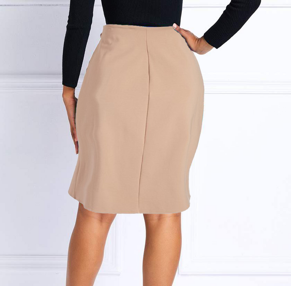 English Italian Half Wrap Skirt