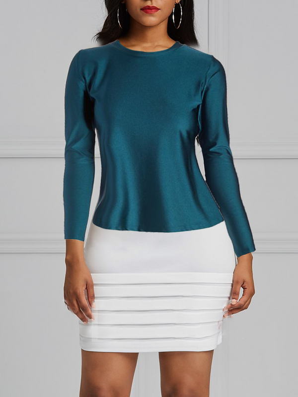 Hunter Green Contouring T-Top Extra Long Sleeve