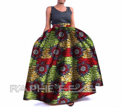 Lucrative Designed Long Maxi Bobo Skirt for Women - Amazing color Combination