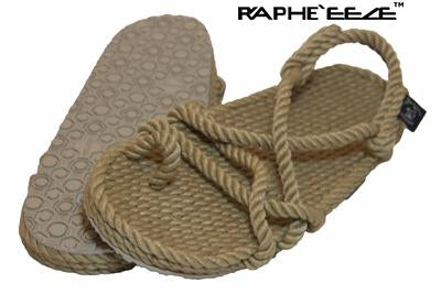 toejoe.2 rope sandal WITH SOLE