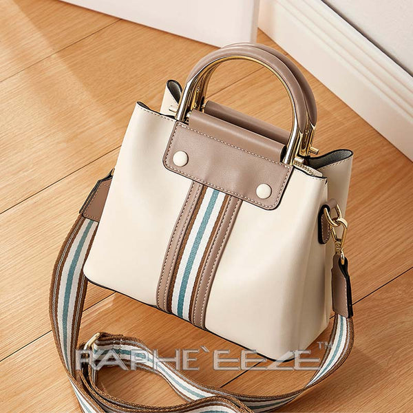 Eye Catching Stylish & Elegant Tote Handbag Purses for Women - White