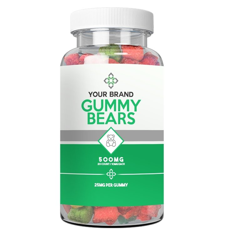 CBD Gummy Bears - CBD Liquid Labs