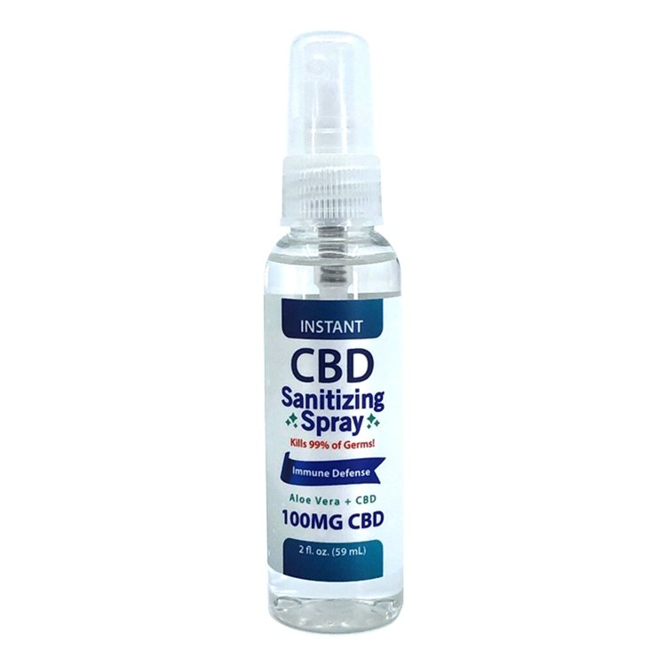 CBD Sanitizing Spray - CBD Liquid Labs